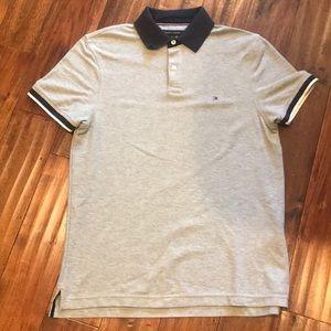 Men's Tommy Hilfiger Polo (Grey) Size S